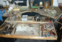 JeWeLRy: WoRK SPaCeS... / Great spaces for working. / by Crystal Allison