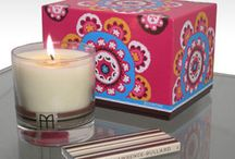 Style File: Home Fragrance / Luxury and designer Candles, fragrances... with Moorish-inspired motifs packaging.