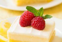Desserter som skal prøves