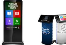 Touch Screen Kiosks for Car Dealers