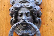 Door & Handles & Keyholes & Knobs & Knockers * / by Michaela