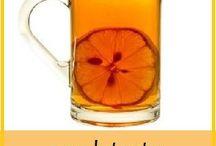 Sund drikke og  mat