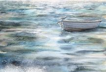 Art That Inspires Me - Water / by Michelle Bailey