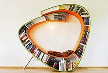 Bookish Eye Candy / Love looking at books? Seeing them displayed or things made from books?