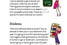 parents letters back to school
