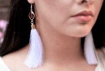 Wedding boho earrings that I love