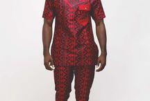 African style men