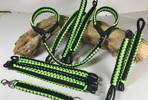 Paracord / Paracord Dog Collar and Jeep Handles and Strap Designs