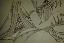 pitilla artwork / una galleria dei miei disegni