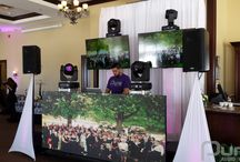 Bondhead Golfclub Open House - March 8, 2015 / A show and tell about our services at the Bondhead open house. Moving heads, LED wall and LED TVs. Quick, simple effective.