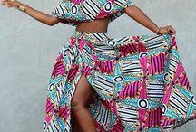Ethnic fabrics African