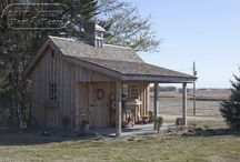 Garden sheds / How to enhance an old garden shed