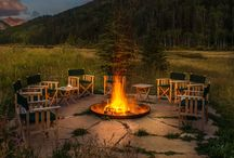 Dunton River Camp Outdoors / The beauty of Dunton River Camp is outside in nature, in the San Juan in SW Colorado
