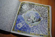 Lost ocean / Ztracený oceán / Johanna Basford Coloring Book