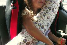 Šití - polštář na autopás