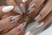 Nails♡ Fall nail art/colors