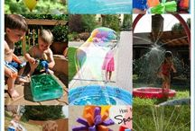 Splash / Water activity ideas for a fun kids camp!