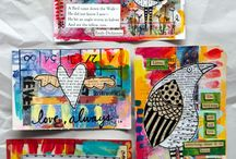 Art on  post card