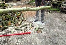 stojan na rezani dreva