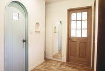 お洒落なドア