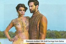 Gehna Jewellery December features / Gehna Jewellery Features in different Magazines for the month of December