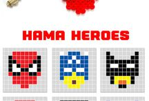 Hama beads avengers and marvel