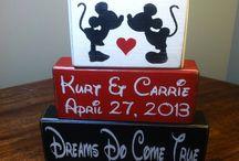 Mickey and Minnie♡