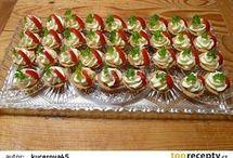 pomazánky kanapky
