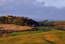 Castel Porrona: diffuse hotel among vineyards