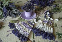 Lavender wand and Weaving