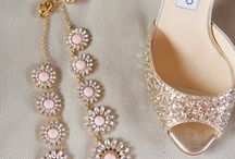 blush sparkly shoes