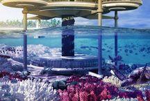 Underwater buildings