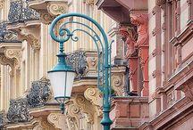 STREET lamps  (lampy uliczne)