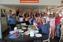 Teambuilding idee, koken met Kookparty / Het leukste teambuilding idee, koken met Kookparty. Kies uit diverse menus of themaworkshops. www.kookparty.com