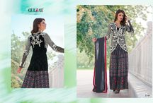 2667 Guardian Faux Georgette Salwar Kameez By Gulzar