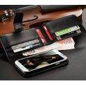 Multiplånbok Samsung Galaxy S4 / Multiplånbok Samsung Galaxy S4 7-kortplatser varav en fotoficka och fullstort sedelfack.
