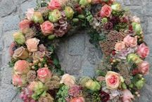 wreaths / by Pam Camp