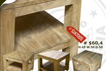Teak - Tani Collection / Timeless simple handmade teak furniture