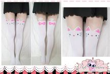 Cute Leggings / Stockings / Imported Kawaii stockings with printed cute characters. (=^-^=)  Visit our website: www.PinkBisous.com  Add or Like us on Facebook for more updates and latest promotions. https://www.facebook.com/PinkBisousShop  Fill up our inbox, we like that! ♥ Questions related E-mail: info@pinkbisous.com Sales related E-mail: sales@pinkbisous.com  ~ XOXO Pink Bisous (=^-^=)