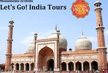 Monuments Of Delhi / Read blog on Monuments Of Delhi  http://letsgoindiatours.blogspot.in/2016/07/monuments-of-delhi.html
