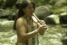 Native rain dance,music