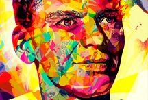 Ilustraciones...Arte...Dibujos...afiches...♥ / by Ana