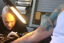 Tattoe / Mijn tattoo under constructie
