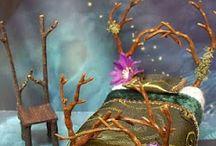 Fairy furniture for fairy garden