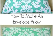 How to make : Cushions / All you need in hints, tips and guides on making your own cushions.