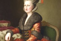 Ladies - Georgian Big Wigs / The very biggest wigs from the Georgian era - characterized by extreme height and volume, excess of ornamentation, powder / by Custom Wig Company