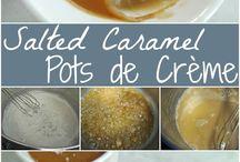 Salted Carmel pudding