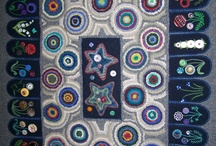 Hooked Rugs / Three hooked rug boards this one, hooked rug antique, and hooked rug grenfell. / by Karen Rose