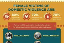 Domestic Violence and Sexual Assault / DV & SA / by Sara Seals
