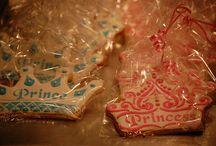 k 7th bday / princess and prince